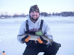 Northern Pike caught on Sandy Pond