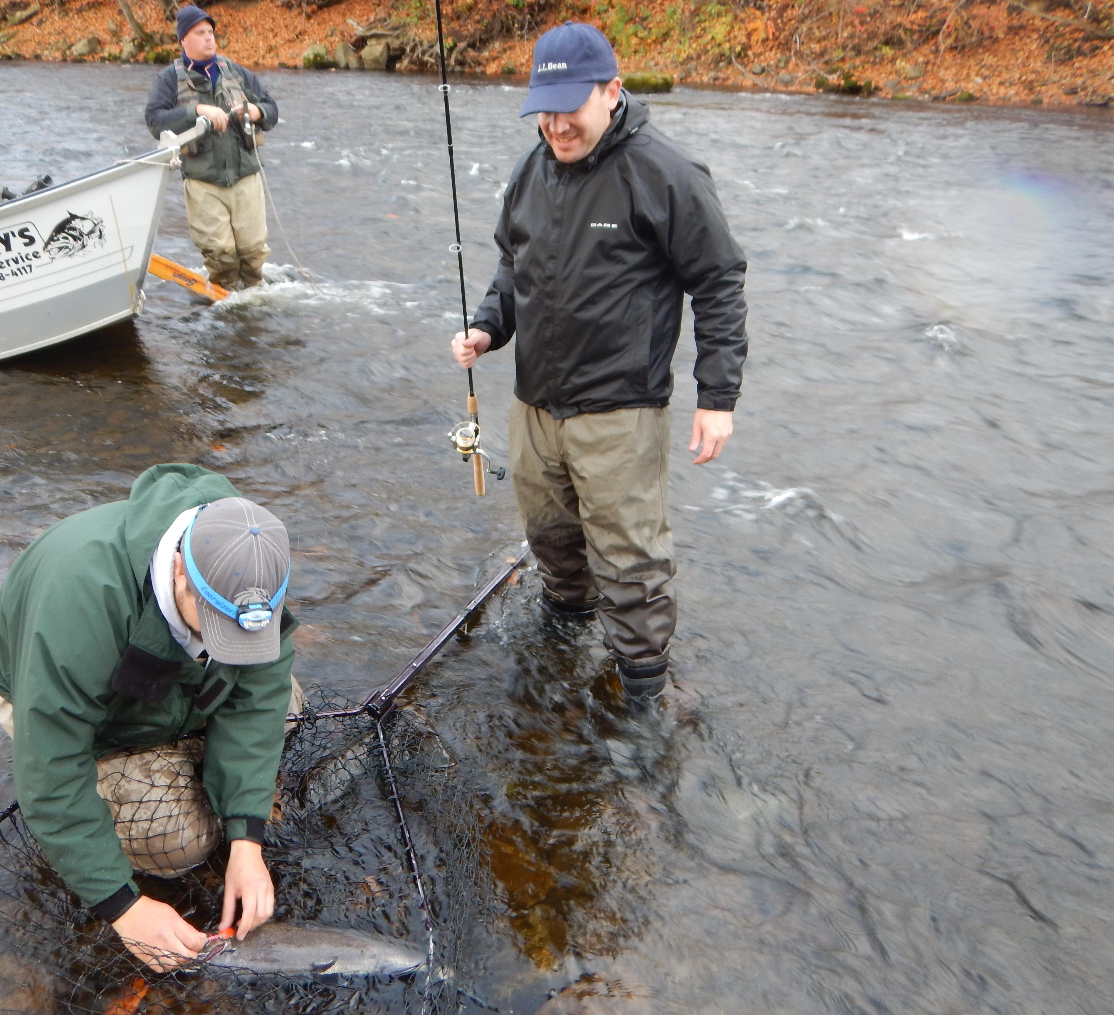 Oswego county fishing reports guidewayneo for Oswego fishing report